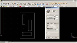 Rysowanie podestów z otworami na przykładzie