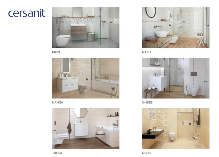 New In The Cersanit Tiles Database Cad Projekt Ka
